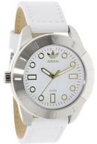 adidas Men's ADH3055 White Leather Quartz Dress Watch