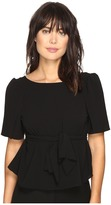 Kensie Crinkle Crepe Top KS3K4673 Women's Clothing
