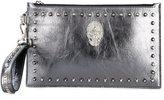Philipp Plein Baby Love clutch - women - Leather/metal - One Size