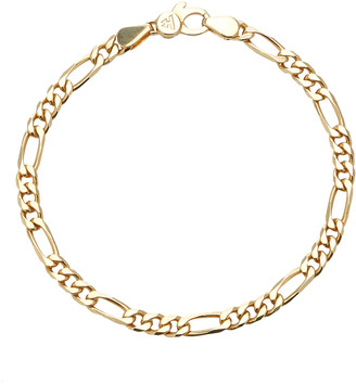 Tom Wood Figaro 9k Gold-Plate Chain-Link Bracelet