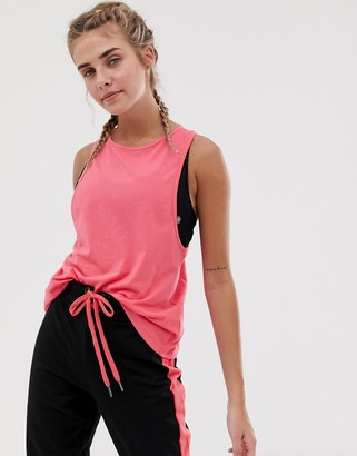 South Beach training tank in pink