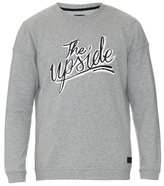 The Upside Logo-printed jersey sweatshirt