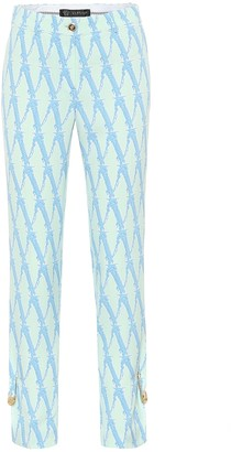 Versace Exclusive to Mytheresa Printed high-rise pants