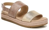 Naturalizer Soul Dorri Espadrille Platform Sandal