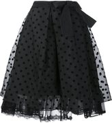 Marc Jacobs polka dot organza skirt - women - Silk - 2