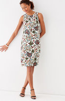 J. Jill Pintucked Knit Swing Dress