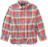Ralph Lauren Cotton Flannel Shirt