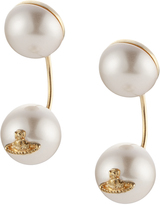Vivienne Westwood Demi Earrings In White
