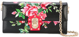 Dolce & Gabbana Lucia floral crossbody bag - women - Calf Leather - One Size