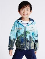 Marks and Spencer All Over Print Anorak Jacket with StormwearTM (3 Months - 5 Years)