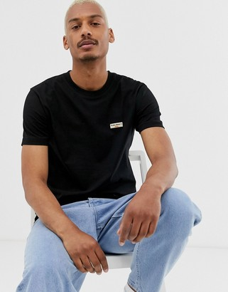 Nudie Jeans Daniel logo t-shirt in black
