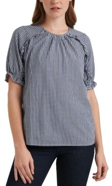 Lucky Brand Lauren Checkered Top