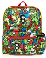 Babymel Toddler Print Backpack - Green