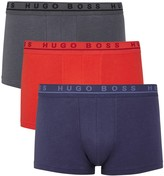 Boss Stretch Cotton Boxer Briefs - Set Of Three