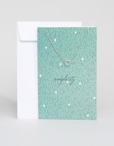 Pieces Lala Simplicity Gift Card Necklace
