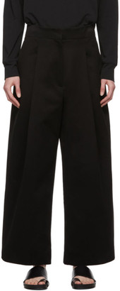 Studio Nicholson Black Dordoni Volume Trousers