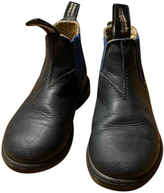Blundstone Black Leather Boots