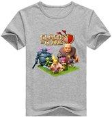 A-Shishangfeng Custom Clash Of Clans Boy's Kids T-Shirt M