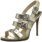 Nine West Women's Howrude Metallic Heeled Sandal