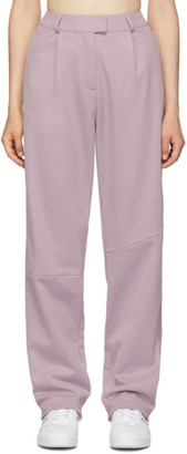 adidas by Danielle Cathari Purple Pique Trousers