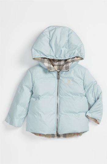 Burberry Infant Boy's Down Filled Puffer Jacket