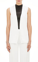 Narciso Rodriguez WOMEN'S CADY LONG VEST-WHITE SIZE 42 IT