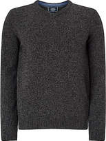 John Lewis Made In Italy Merino Cashmere V-neck Jumper