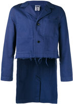 Comme des Garcons Work cropped front jacket