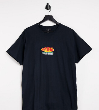 New Look oversized t-shirt with NYC print in black