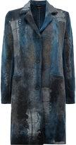 Avant Toi single breasted coat