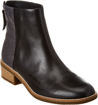Sperry Maya Belle Croc-Embossed Leather Boot
