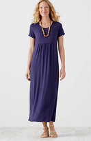 J. Jill Scoop-Neck Knit Maxi Dress