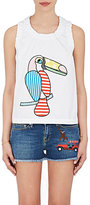 Mira Mikati Women's Toucan-Embroidered Cotton Top
