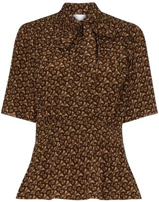Burberry Kira pussy bow blouse