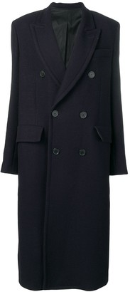 Ami Paris Long Lined Coat