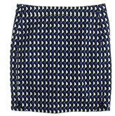 J.Crew Jet-set geo mini skirt