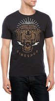 Ringspun Tiger Embroidered Tee