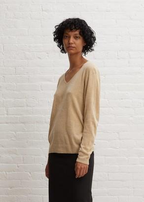 Arch The Silk Knit V-Neck Blouse