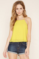 Forever 21 Strappy Y-Back Layered Cami