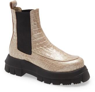 Topshop Alpha Platform Chelsea Boot