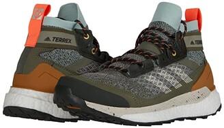 adidas Outdoor Terrex Free Hiker Blue (Feather Grey/Alumina/Green Tint) Women's Shoes