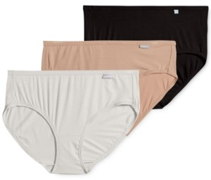 Jockey Women's 3-Pk. Supersoft Hipster Underwear 2072