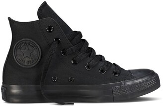 Converse Chuck Taylor All Star Mono Canvas High Top Trainers