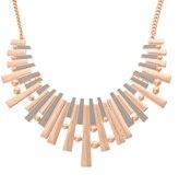 Oliver Bonas Mariposa Fan Collar Necklace