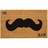 Asstd National Brand Mustache Rectangular Doormat - 18X30