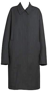 Dries Van Noten Women's Pinstripe Overcoat