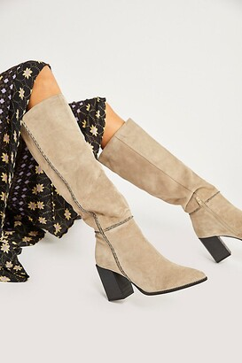 Free People Riley Whipstitch Tall Boots
