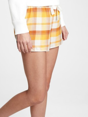 Gap Flannel Pajama Shorts