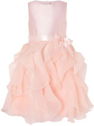 Monsoon Girls CannesRuffle Dress - Pink