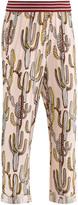 Molo Aldora Pastel Cactus Print Pants